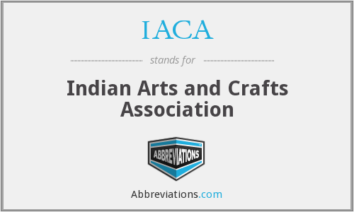 IACA - Indian Arts and Crafts Association