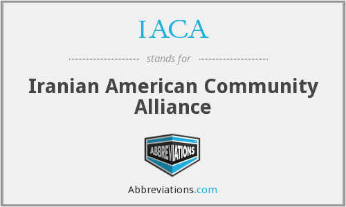 IACA - Iranian American Community Alliance