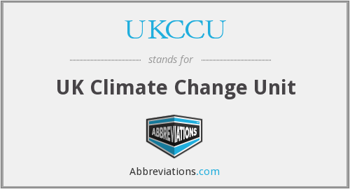 UKCCU - UK Climate Change Unit