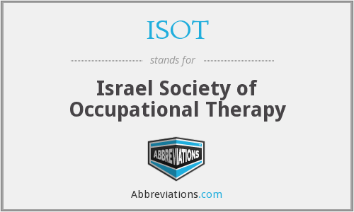 ISOT - Israel Society of Occupational Therapy