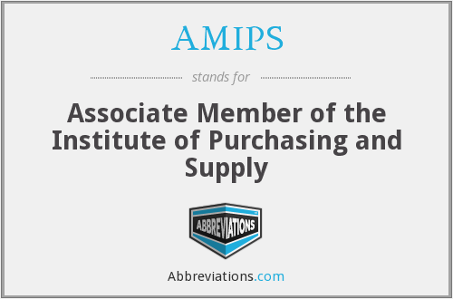 What does AMIPS stand for?