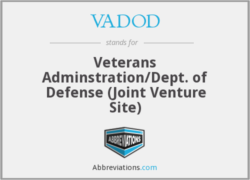 VADOD - Veterans Adminstration/Dept. of Defense (Joint Venture Site)