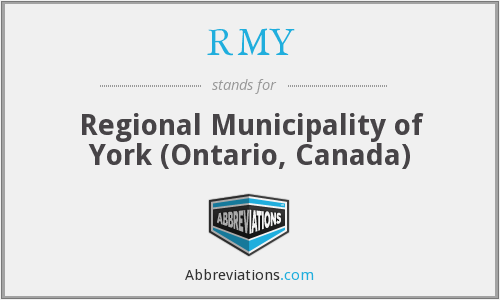 RMY - Regional Municipality of York (Ontario, Canada)