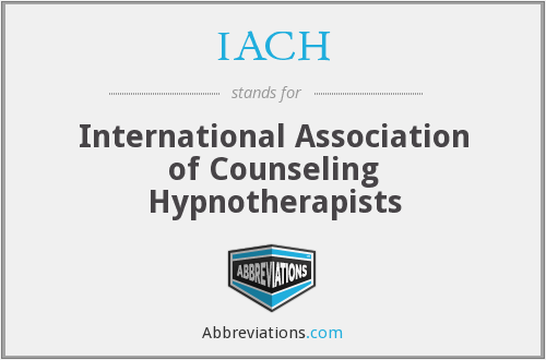 IACH - International Association of Counseling Hypnotherapists