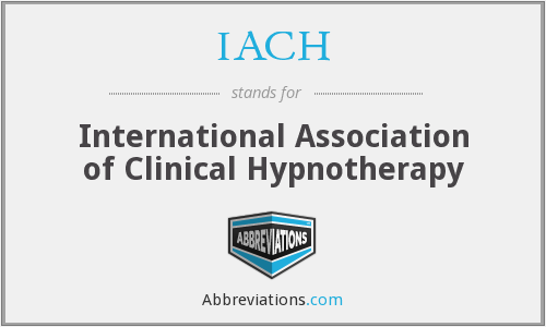 IACH - International Association of Clinical Hypnotherapy