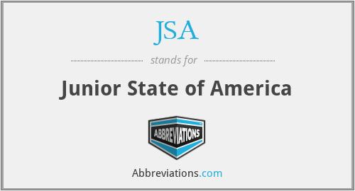 JSA - Junior State of America