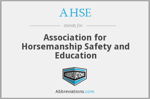 AHSE - Association for Horsemanship Safety and Education