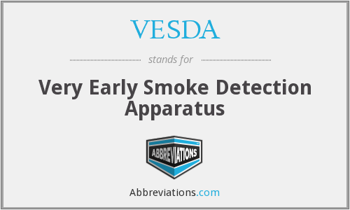 VESDA - Very Early Smoke Detection Apparatus