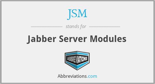 JSM - Jabber Server Modules