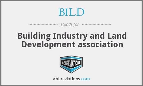 BILD - Building Industry and Land Development Association