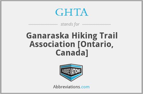 GHTA - Ganaraska Hiking Trail Association [Ontario, Canada]