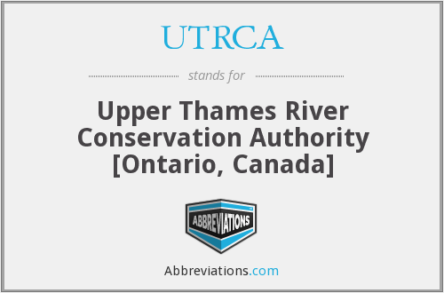 What does UTRCA stand for?