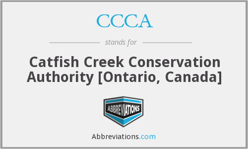 CCCA - Catfish Creek Conservation Authority [Ontario, Canada]