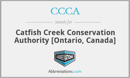 CCCA - Catfish Creek Conservation Authority [Ontario, Canada]