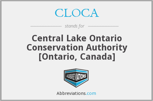 CLOCA - Central Lake Ontario Conservation Authority [Ontario, Canada]