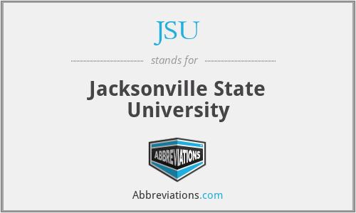 JSU - Jacksonville State University