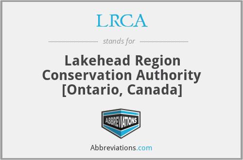 LRCA - Lakehead Region Conservation Authority [Ontario, Canada]