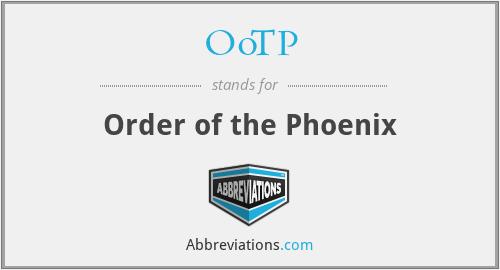 OoTP - Order of the Phoenix