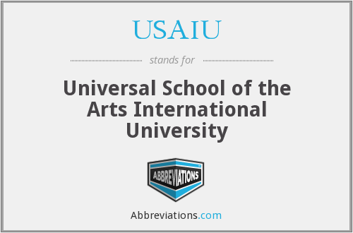 What does USAIU stand for?