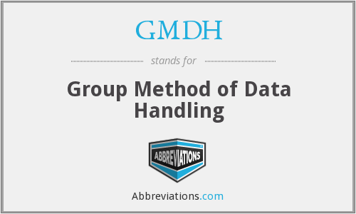 What does GMDH stand for?
