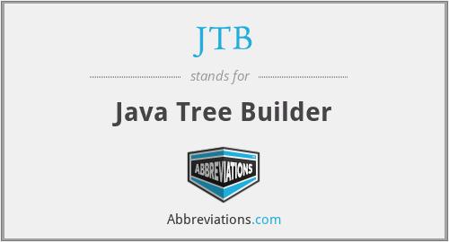 JTB - Java Tree Builder