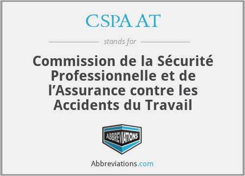 CSPAAT - Commission de la sécurité professionnelle et de l'assurance contre les accidents du travail (WSIB Ontario)
