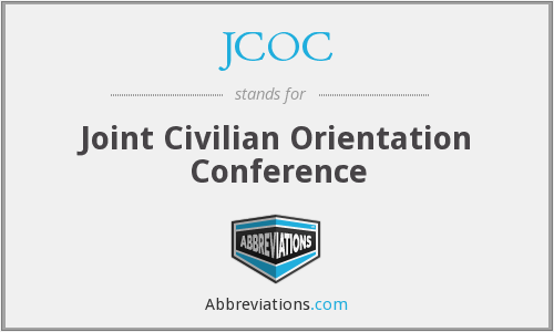 JCOC - Joint Civilian Orientation Conference