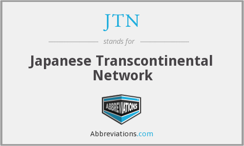What does JTN stand for?