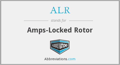 ALR - Amps-Locked Rotor