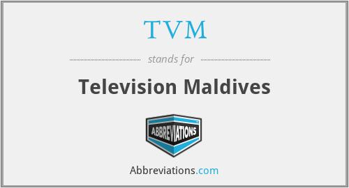 TVM - Television Maldives