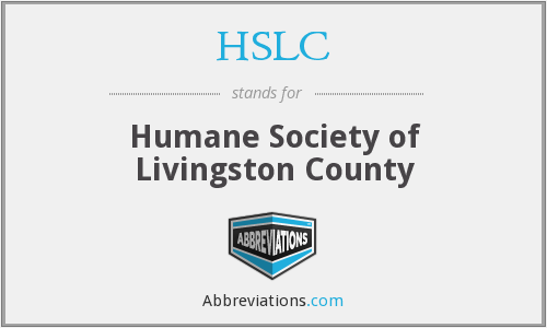 HSLC - Humane Society of Livingston County