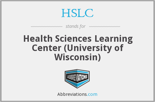 HSLC - Health Sciences Learning Center (University of Wisconsin)