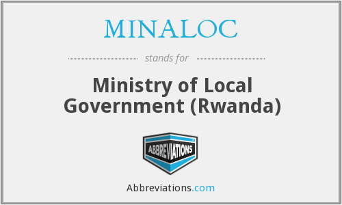 MINALOC - Ministry of Local Government (Rwanda)
