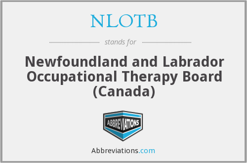 What does NLOTB stand for?