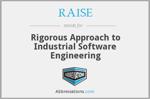 RAISE - Rigorous Approach to Industrial Software Engineering