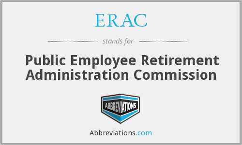 ERAC - Public Employee Retirement Administration Commission