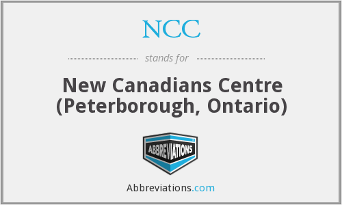 NCC - New Canadians Centre (Peterborough, Ontario)