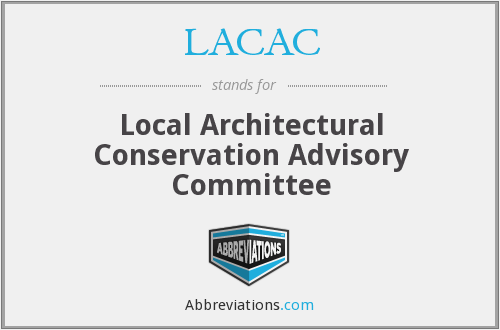 What does LACAC stand for?