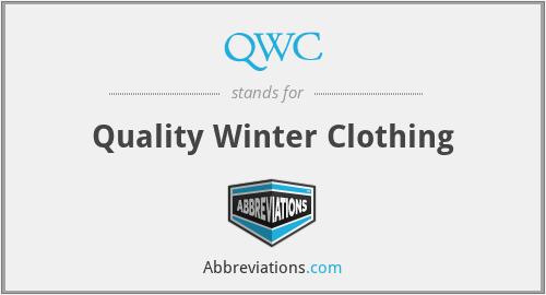 QWC - Quality Winter Clothing
