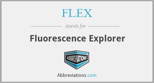 FLEX - Fluorescence Explorer