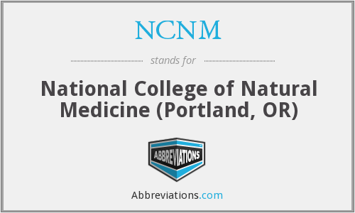 What does NCNM stand for?