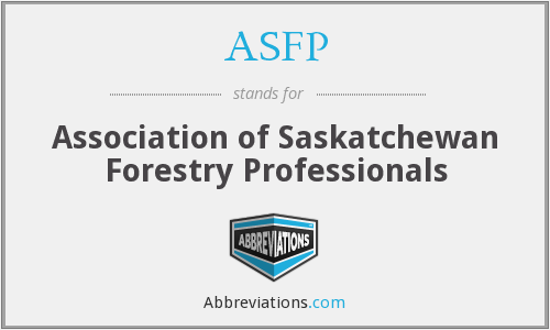 ASFP - Association of Saskatchewan Forestry Professionals