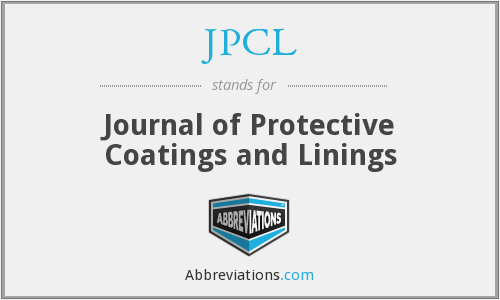 JPCL - Journal of Protective Coatings and Linings