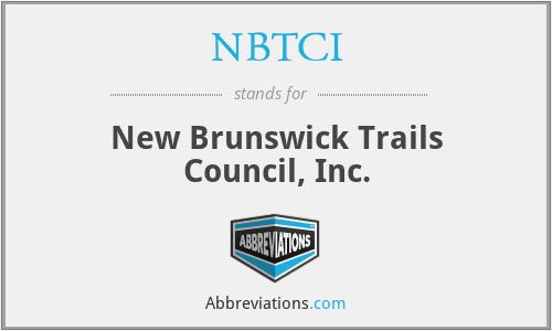 NBTCI - New Brunswick Trails Council, Inc.