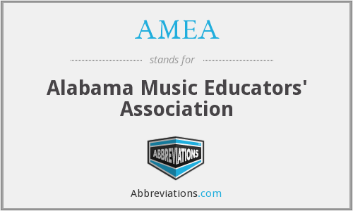 AMEA - Alabama Music Educators' Association