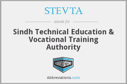What does STEVTA stand for?