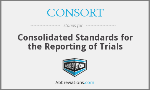 What does CONSORT stand for?