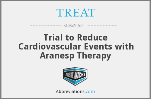 TREAT - Trial to Reduce Cardiovascular Events with Aranesp Therapy