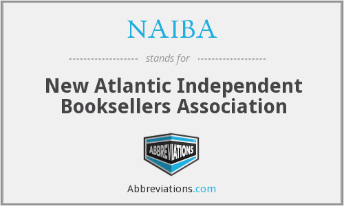 NAIBA - New Atlantic Independent Booksellers Association