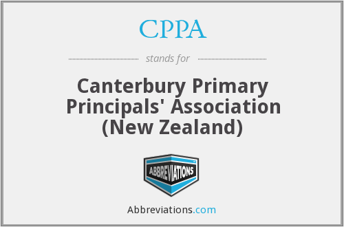 CPPA - Canterbury Primary Principals' Association (New Zealand)
